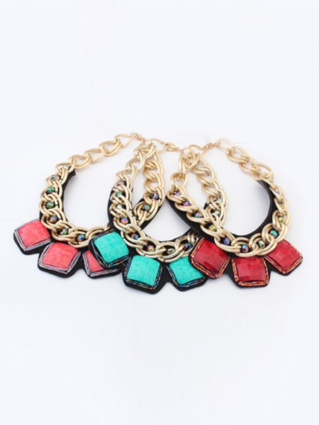 Occident Hyperbolic Metallic thick chains Personality Ketting