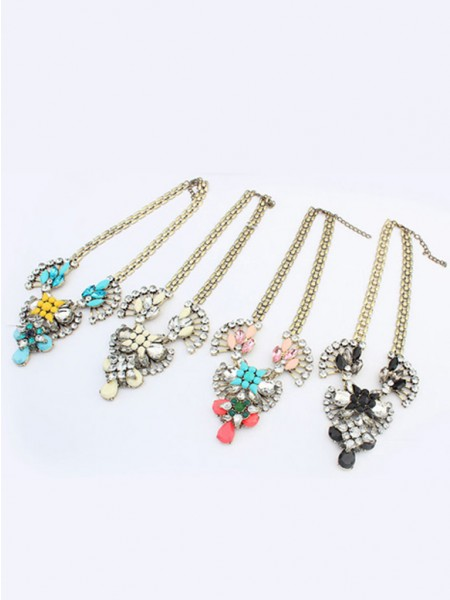 Occident Major suit Retro Hyperbolic Personality Ketting